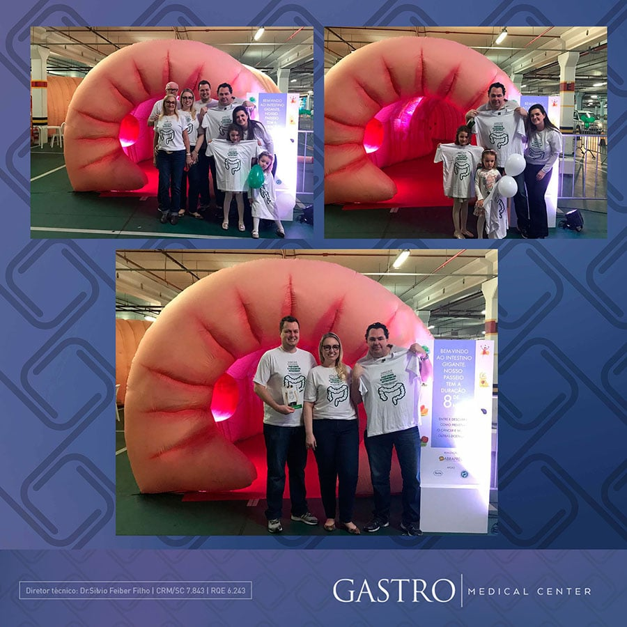 Gastro Medical Center no intestino gigante