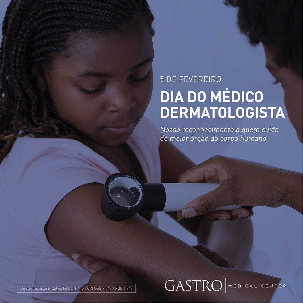 Homenagem ao dia do dermatologista
