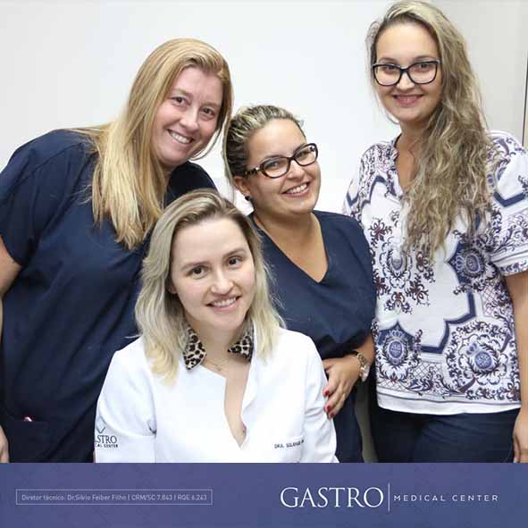 Dermatologista Solange Emanuelle Volpato Steckert no Gastro Medical Center em Florianópolis